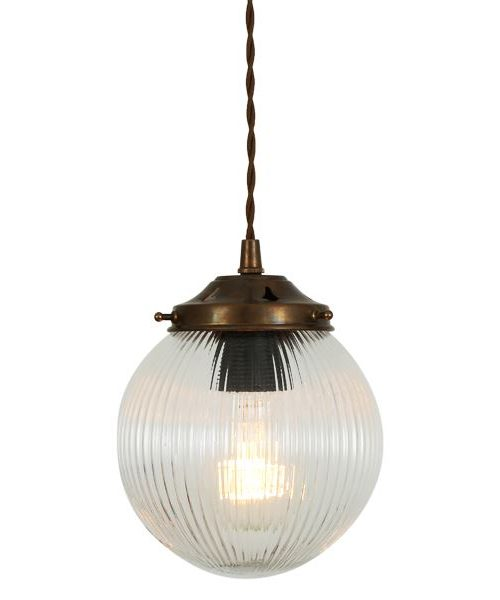 Globe Prismatic Pendant – Small