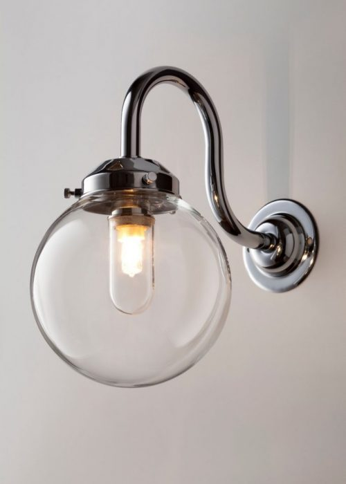 Industrial Glass Wall Lights