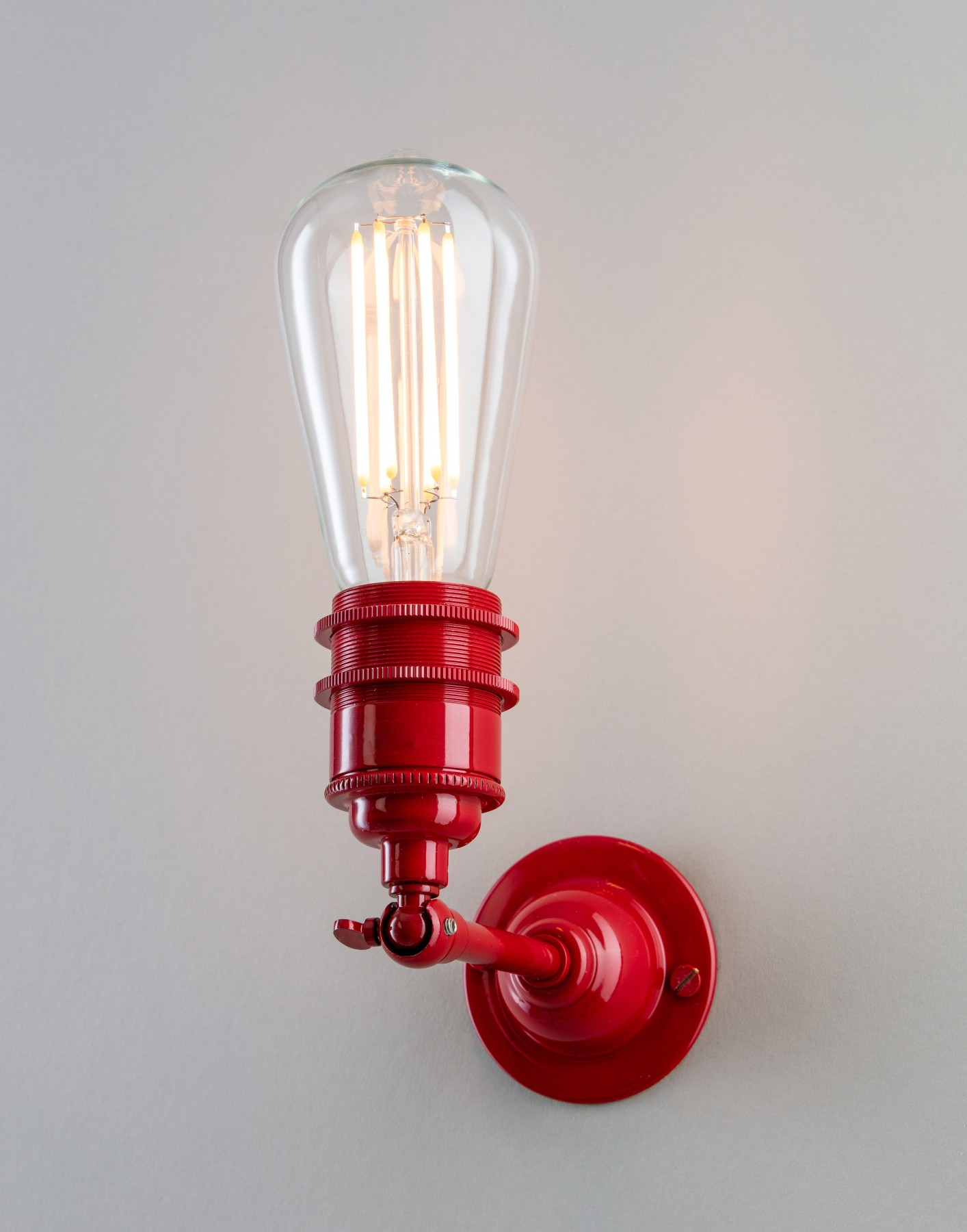 Industrial Wall Light Old School Electric